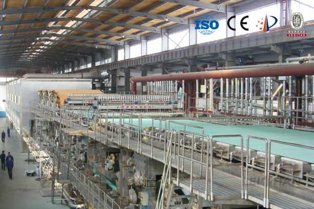 kraft-testliner-paper-machine