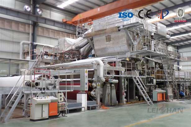 Living Paper Making Machine