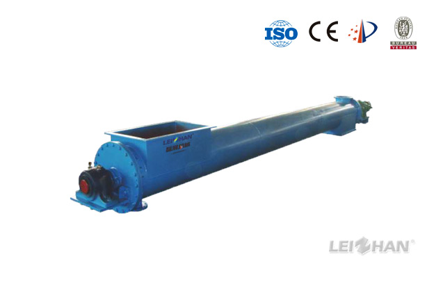 zls-series-heating-screw-conveyor