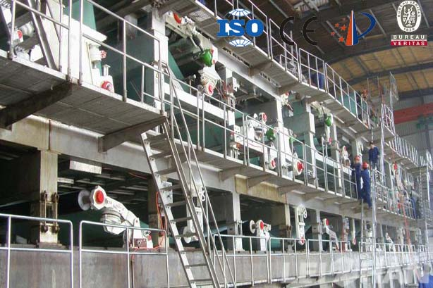 3800 Five-wire Coating Board Paper Machine