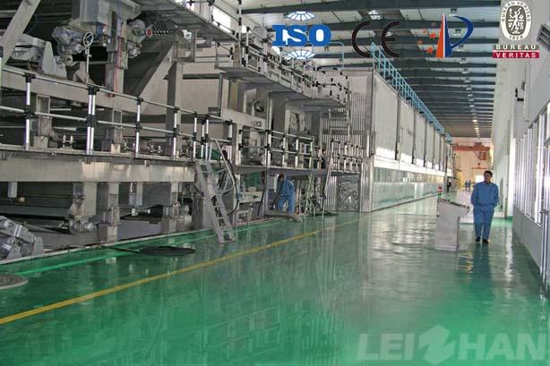 High-grade corrugated paper machine