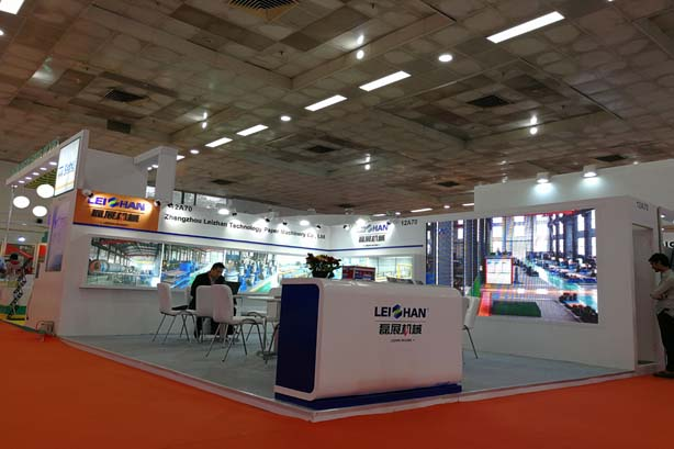 Leizhan attend the 2017 Paperex Exhibition In India