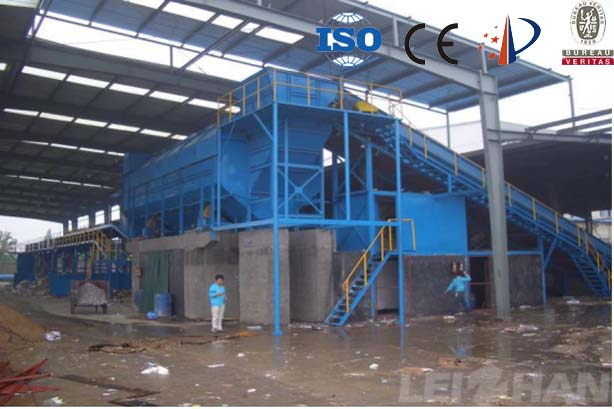 Bale Breaker Dry Screening System