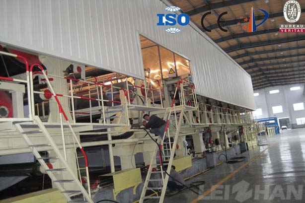 paper machine drying section