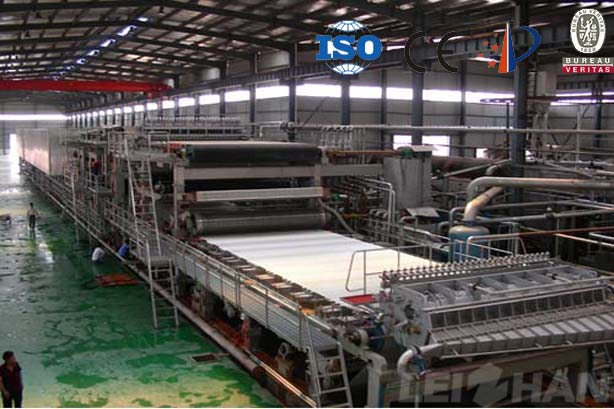 fluting paper machine