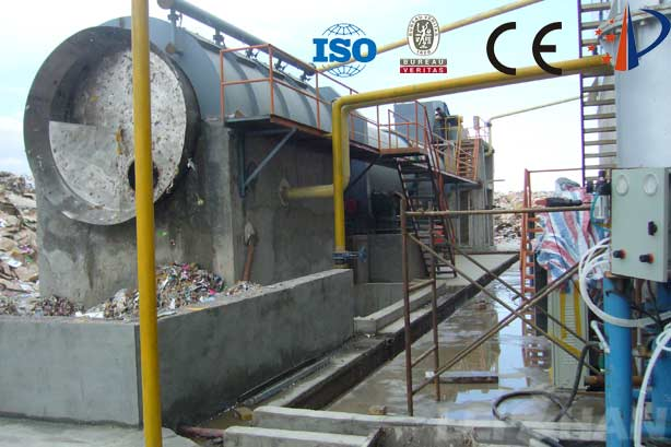 waste paper coarse screening machine drum pulper