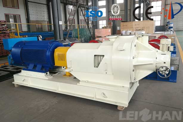 puling equipment double disc refiner for sale